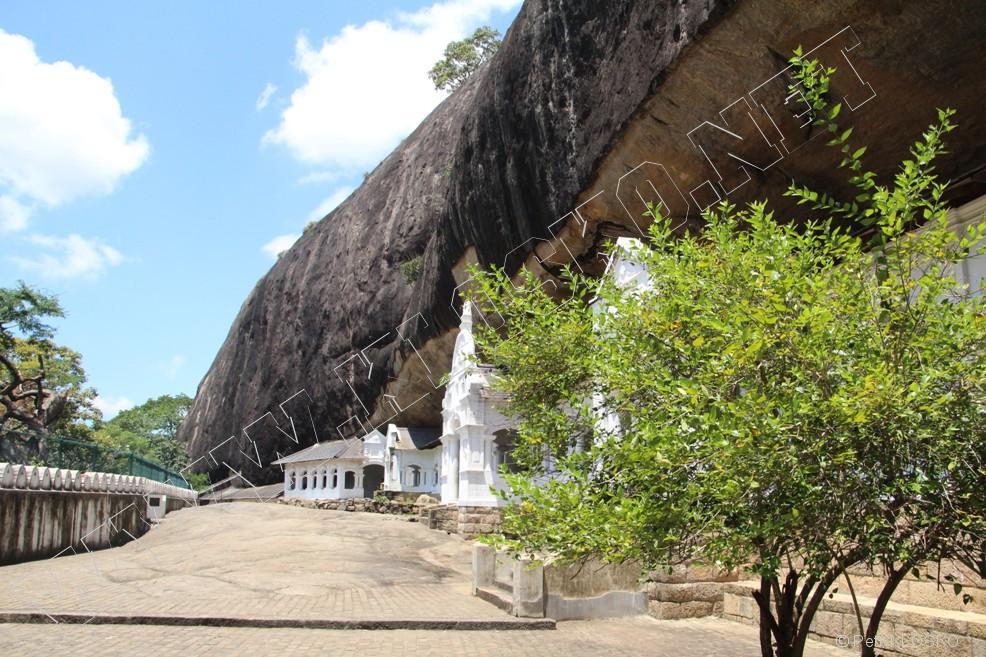 Detail - Sri Lanka 2015 – Dambulla – Skalní chrám