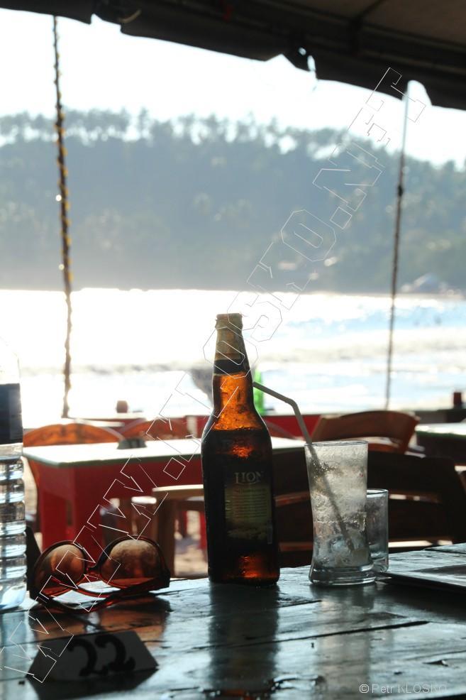 Detail - Sri Lanka 2015 – Mirissa – Catamaran beach bar