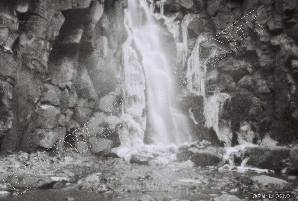 Detail - Dírková komora - fotky XVII - Pekelský vodopád u Ústí nad Labem